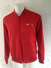 Adidas Pharrell Williams Jacket In Red Trefoil Men's Zipped Pockets Medium BNWT