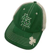 St Louis Cardinals St Patrick's Day Clover Ball Cap Hat Adjustable Baseball