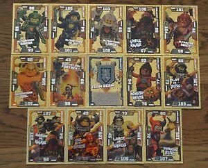 Lego® Nexo Knights™ Trading Card Game limitierte Limited Edition aussuchen
