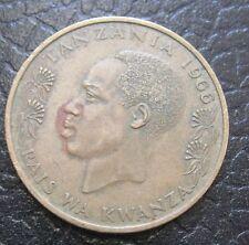 20 Senti ishirini Tanzania  Rais Kwanza 1966  - n. 1161