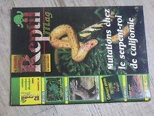 $$ Revue Reptil mag N°18 serpent-roi Californie  plantes  dragons de Komodo