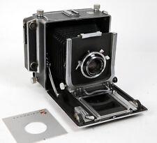 Linhof Technika III folding 4X5 film camera with 135mm lens & cam