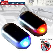 Universal Car Alarm System Solar Power Lamp Security Anti Theft Flash Led Light