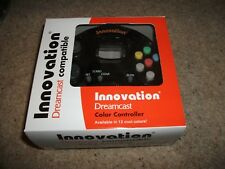 Innovation-Dreamcast Controller Black Brand New! coffret