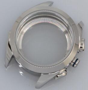 Watch Case for ETA Valjoux 7750 / 7753 Chronograph Sapphire 38mm 10 ATM 316L NEW
