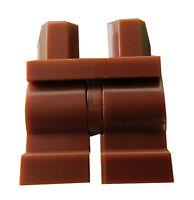 Lego Beine kurz in braun (reddish brown) 970cm00 Hosen Basics City Disney Neu