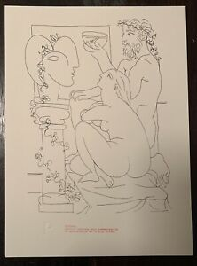 Picasso Lithograph Eiffel Tower 80th Anniversary Edition