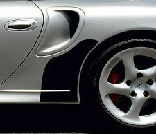 BLACK stone guard set Porsche 996 Turbo high quality stone chip protection film