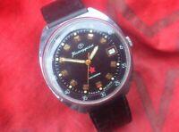 Vintage Watch Military VOSTOK Wostok 2214 Komandirskie Wristwatch,USSR