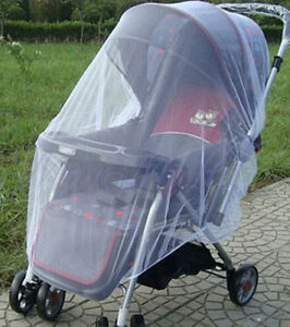 Universal Pram Mosquito Net Buggy Stroller Pushchair Bug Insect Car Seat Me. H❤
