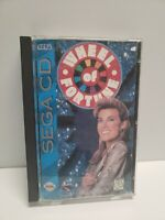 Wheel of Fortune (Sega CD, 1994) Complete with Registration Card
