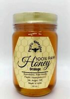 18oz Raw Orange Blossom Honey