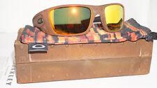 OAKLEY New Sunglasses FUEL CELL Rust Decay/Fire Iridium Polarized OO9096-97