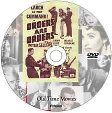 Orders are Orders  - Sid James, Tony Handcock, Peter Sellers  Film on DVD 1954