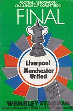 Liverpool Teams L-N Football FA Cup Fixture Programmes
