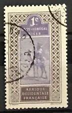 Upper Senegal & Niger #18 Used CDS Camel Rider