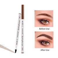 Natural 4-point Eyebrow Pencil Makeup Tools Eye Brow Pen Eyebrow Enhancers