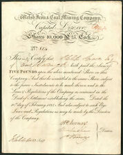 More details for welsh iron & coal mining co., £25 share, 1825