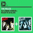 """THE POLICE""""OUTLANDOS D AMOUR/REGATTA DE BLANC"""" 2 CD NEU"""