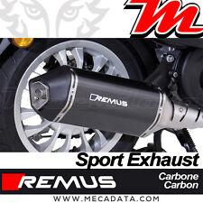 Ligne complète échappement Remus Sport Carbone avec Cat. Vespa Sprint 125ie 2017