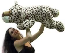 Big Plush Leopard 36 Inch Large Soft Stuffed Animal Huge 3 Feet Long