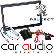 Peugeot 307 2005 > Double Din Car Stereo Fascia Panel Fitting Kit CT24PE11