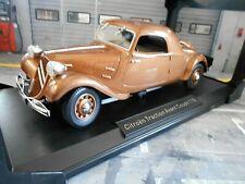 CITROEN Traction Avant Coupe 11B 11 B braun met. 1939 NEU Norev 1:18