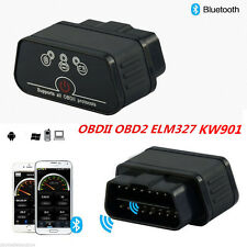 KW901 ODB2 OBDII Car Diagnostic Scanner Code Reader ELM327 Bluetooth For Android