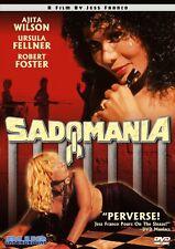 Sadomania DVD Blue Underground Jess Franco 1981 Ajita Wilson uncut euro-trash