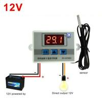 12V Digital LED Temperature Controller Thermostat Control Switch Probe GA