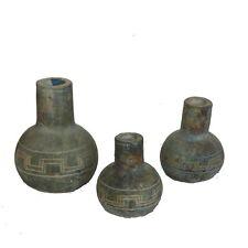 VASI GRECA SET.3  Misure H18/H16/H12  cm. 1MX0913