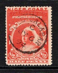 Niger Coast Protectorate QV 1894  ½d Vermilion (p13½-14) SG45a Used