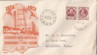 AFD928) Australia 1951 Wide World FDC - Discovery Of Gold & Responsible Gov.