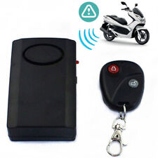 Motorcycle Security Remote Alarm Scooter Anti Theft For Motorbike 120db 9V