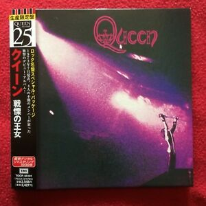 QUEEN I Same LIMITED JAPAN MINI LP CD edition TOSHIBA EMI 1998 Freddie Mercury