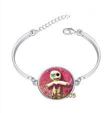 Voodoo Doll Bracelet Photo Glass Cabochon Tibet silver Bracelets