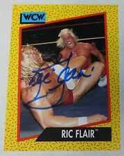 Ric Flair Signed 1991 Impel WCW Card #39 PSA/DNA COA WWE Autograph Pro Wrestling