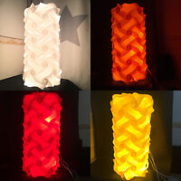 60pcs Cylindrical IQ Lamp Shade Self DIY Assembled Puzzle Lights Small for Room