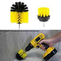 3Pcs/Set Tile Grout Power Scrubber Cleaning Drill Brush Tub Cleaner Combo Useful