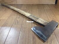 Japanese vintage Carpentry Tool NATA AXE ONO Hatchet Woodworking 680mm TN828