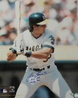 Jose Canseco Signed Autographed 16x20 Photograph Oakland A's 40/40  W/ COA