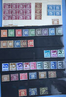 Postage Due And To Pay Stamp Collection Mint And Used Stamps