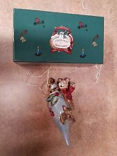 Blue Sky Clayworks Heather Goldminc Circa 2000 Christmas Collection Ornament Cat