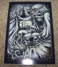 """GODMACHINE Sticker 3 X 4"""" Spades House Of Cards decal like poster art print"""