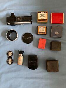Vintage Rolleiflex Yashica Carena Camera Zeiss Ikon Accessores Joblot