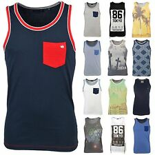 Men's Beach, Palm Tree Crew Neck Vests Casual Shirts & Tops