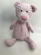 "Jelly Kitten Cordy Roy Corduroy Cord Pink Bear Medium 13"" Retired J1363 Jellycat"