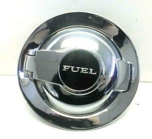 Dodge Challenger 2008-2019 Fuel Filler Door Assembly Chrome W/ Cap OEM 68086353