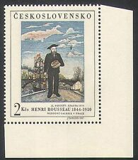 Czechoslovakia 1967 Rousseau/Art/Boat/Bridge/Artists/People/StampEx 1v (n36384)