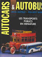 """GSBÜ """"AUTOCARS & AUTOBUS - LES TRANSPORTS PUBLICS EN MINIATURE""""  NEU/NEW/NEUF"""
